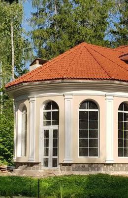 фасадный декор из пенополистирола