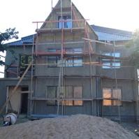 фасад дома до монтажных работ