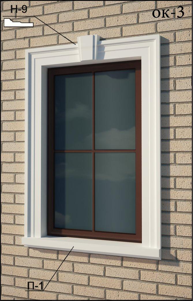 Обрамление окна на заказ