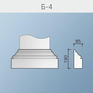 Базы и капители колонн Б-4