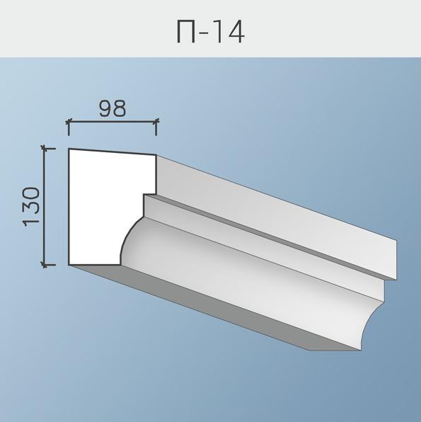 Подоконники П-14