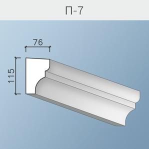 Подоконники П-7