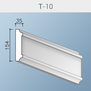 Наличники цоколя и тяги Т-10