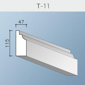 Наличники цоколя и тяги Т-11