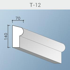 Наличники цоколя и тяги Т-12