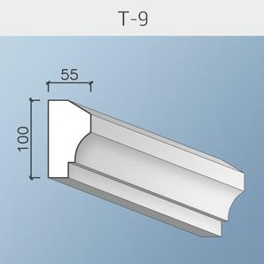 Наличники цоколя и тяги Т-9