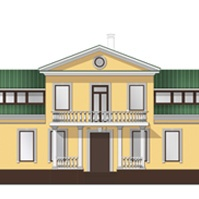 дизайн проект усадьбы с декоративными элементами