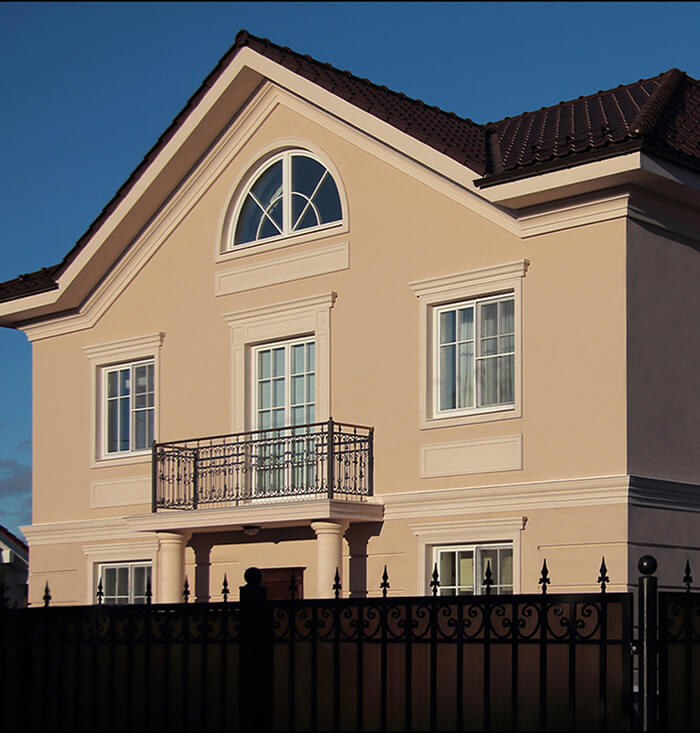 межэтажный карниз фасада