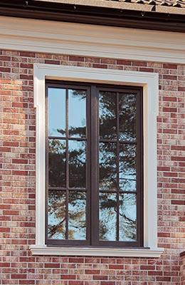 фасадный декор обрамление окна