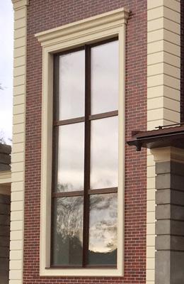 сандрик окна и русты