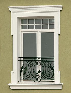 наличник окна на фасад