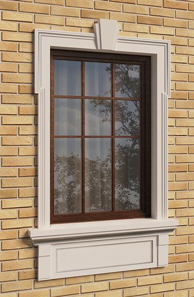 Классическое оформление окна