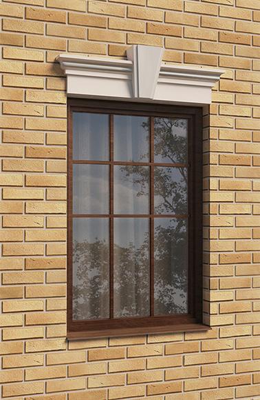 Сандрик окна над проемом