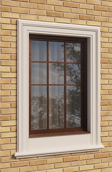Окно в английском стиле
