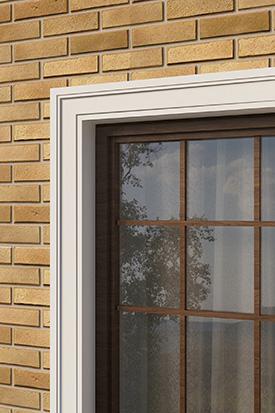 Наличники окна для декора фасада