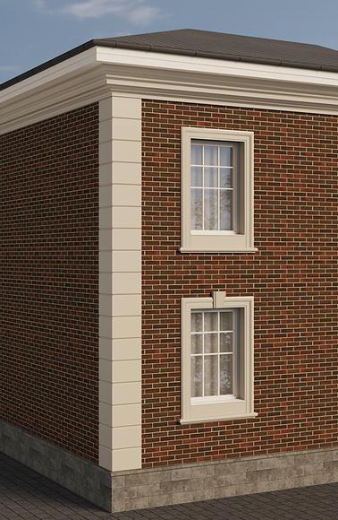 Готовое решение декора фасада
